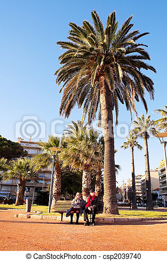 Couple in Antibes