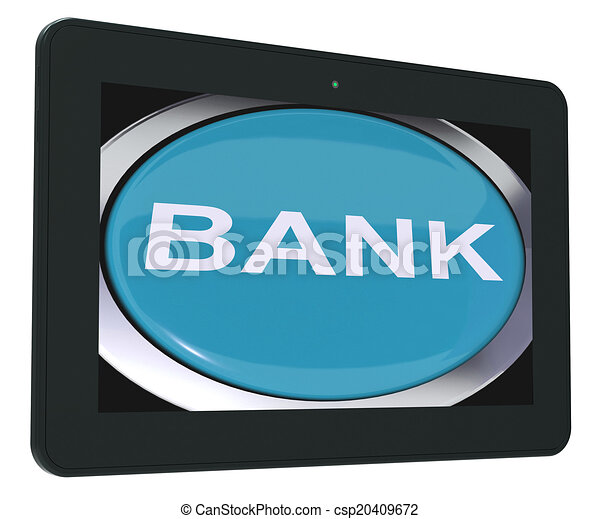 Bank Switch Shows Online Or Internet Banking - csp20409672