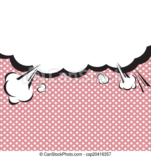 Speech Bubble Pop-Art Style. - csp20416357