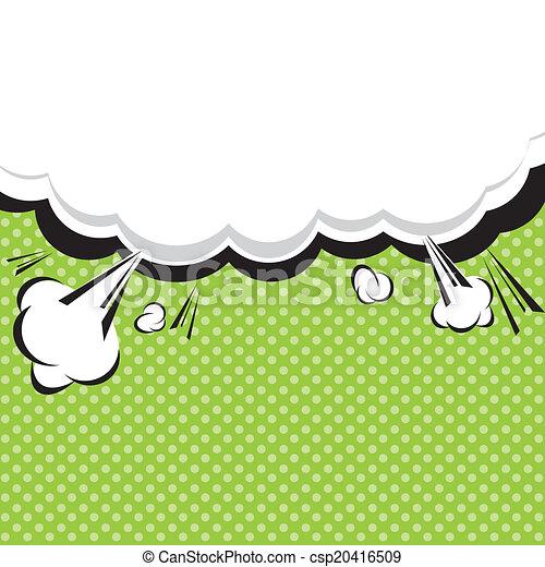 Speech Bubble Pop-Art Style. - csp20416509