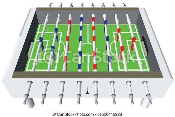 Table Football Soccer Game