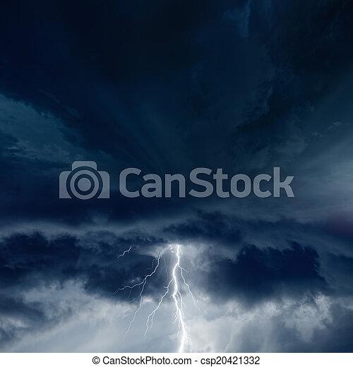 Stormy weather - csp20421332