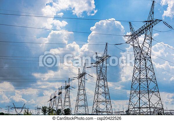Pylon and transmission power line i