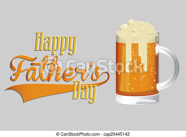 Fathers day design - csp20445142