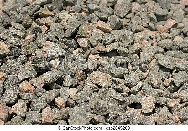 Gravel heap background - csp2045209