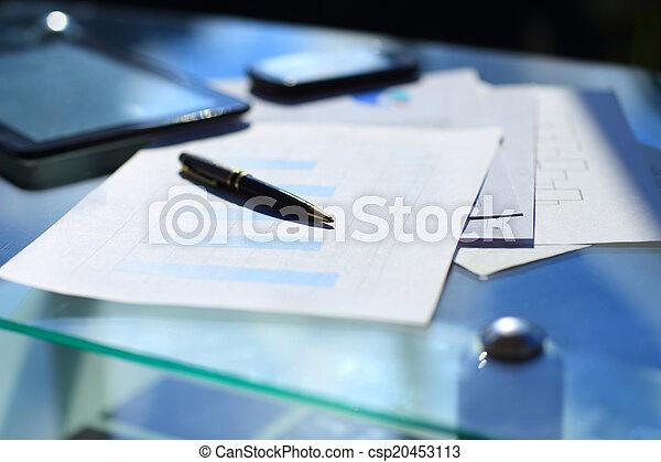 finanziario, tabelle - csp20453113