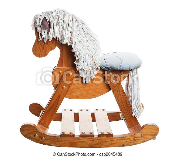 Childhood Rocking Horse - csp2045489
