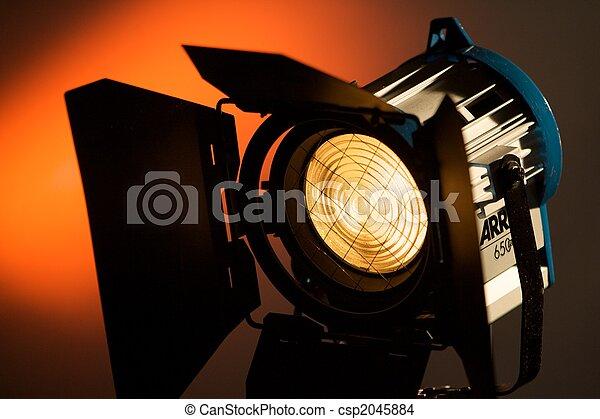 Broadcast Lighting - csp2045884