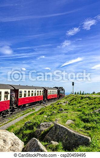 Steam locomotive - csp20459495