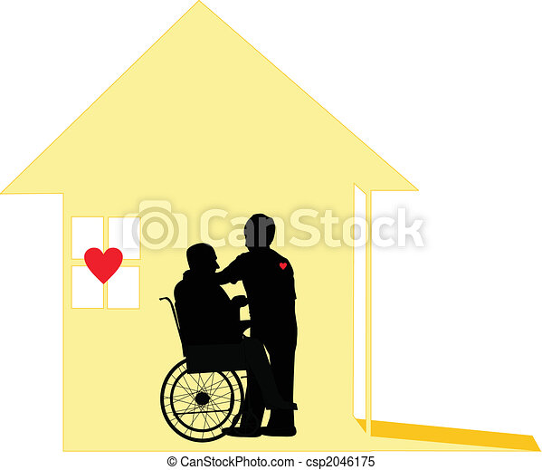 Loving care of Home Care and Pallative care - csp2046175