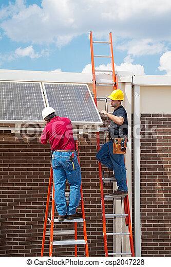 Solar Energy Installation - csp2047228