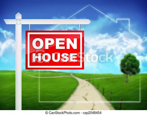 Open House - csp2048454