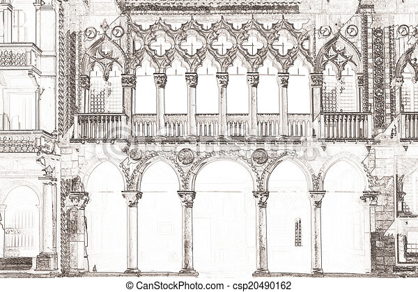 Ca d Oro Venice Italy - csp20490162