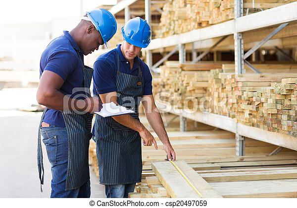hardware store workers