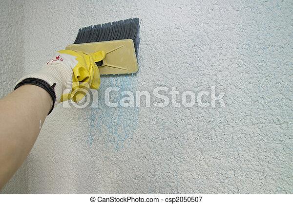 Undercoat the facade - csp2050507
