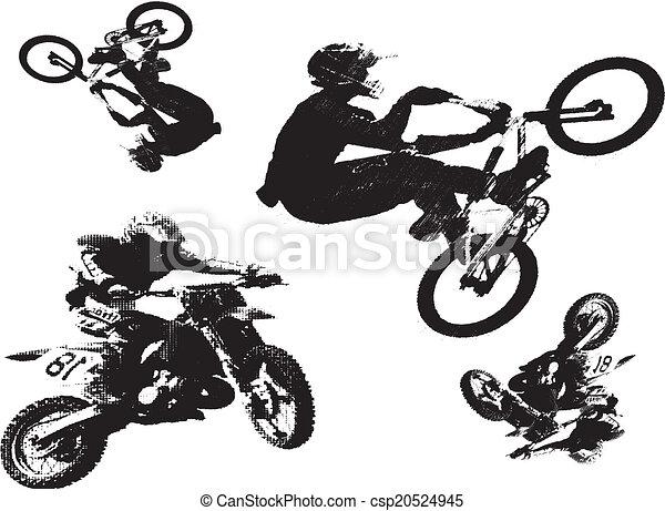 Bmx bike Clipart Vector and Illustration. 879 Bmx bike clip art ...
