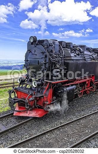Steam locomotive - csp20528032