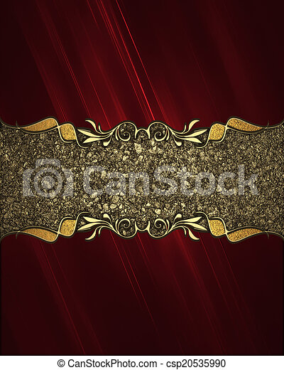stock illustration of red background with signboard for filigree clip art designs filigree clip art colourful