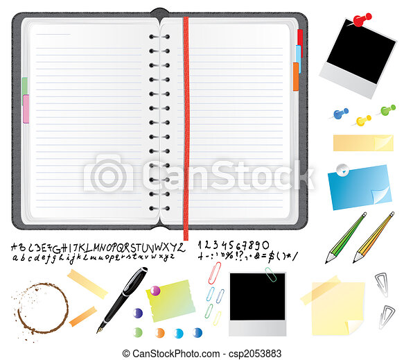 Daily planner set - csp2053883