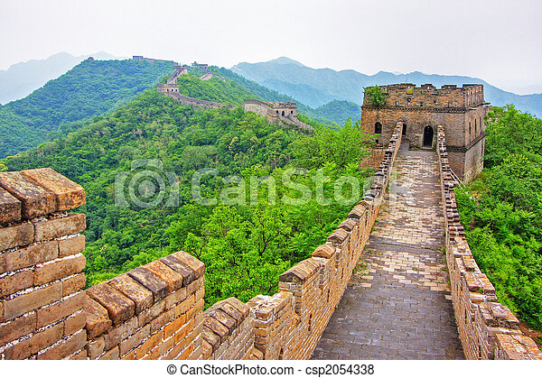 Great Wall of China - csp2054338