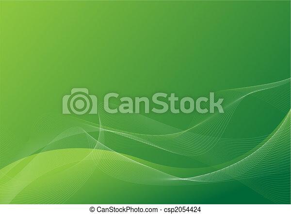 groene, achtergrond - csp2054424