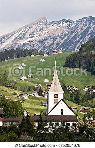 Swiss Alps - csp2054678