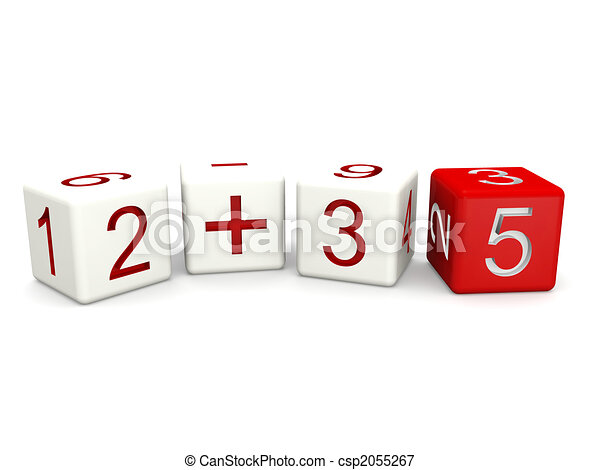 Children mathematics class concept - csp2055267