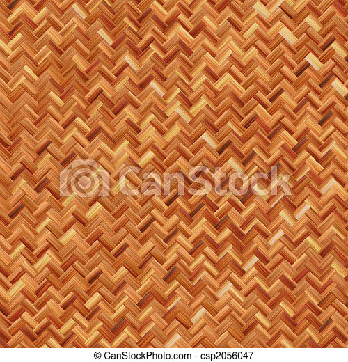 warm brown weave - csp2056047