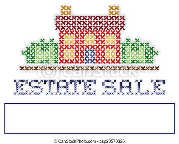 Estate Sale Artwork Estate Sale Yard Sign