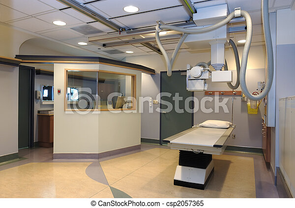 Hospital X-ray room - csp2057365