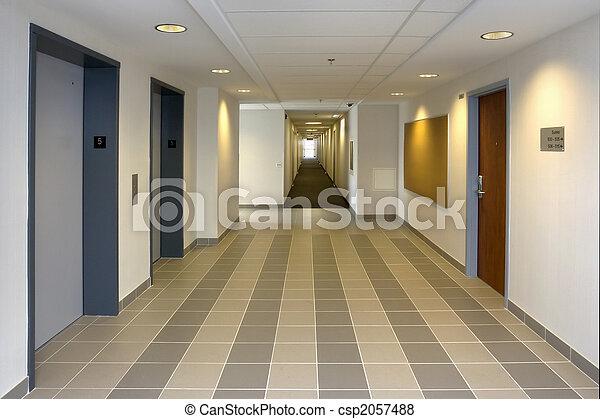 Elevator lobby - csp2057488