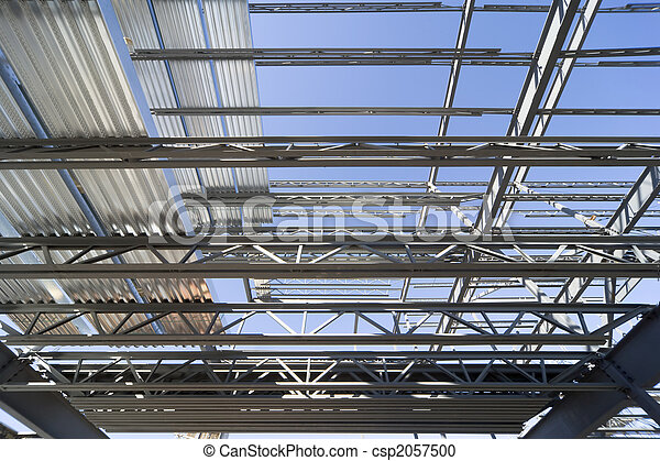 Structural steel roof - csp2057500