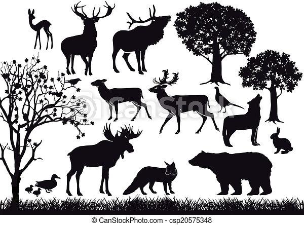 Wildlife Clipart Vector Graphics. 136,331 Wildlife EPS clip art ...