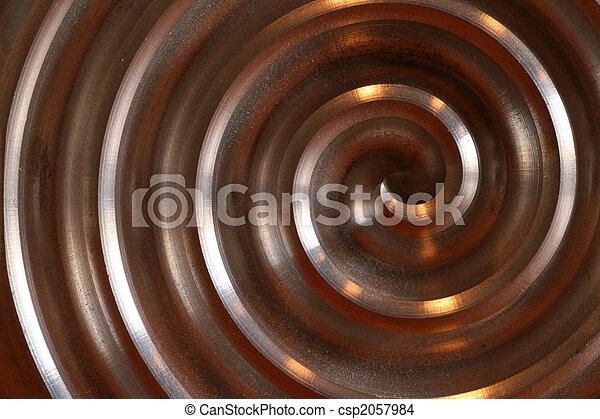 Labyrinth, aluminium circle
