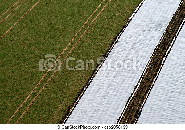 Aerial Pictrue of agriculture - csp2058133