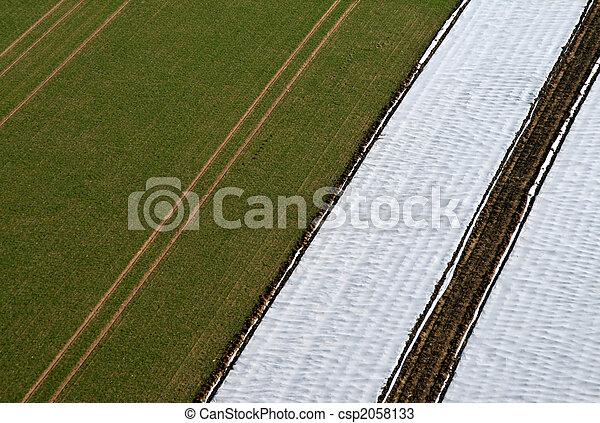 Aerial Pictrue of agriculture - csp2058133