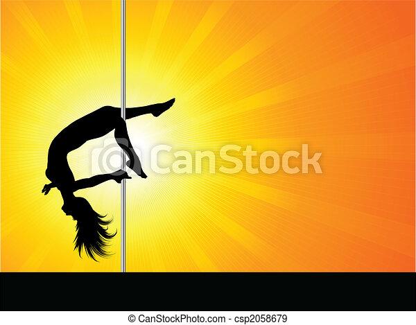 Pole dancer - csp2058679