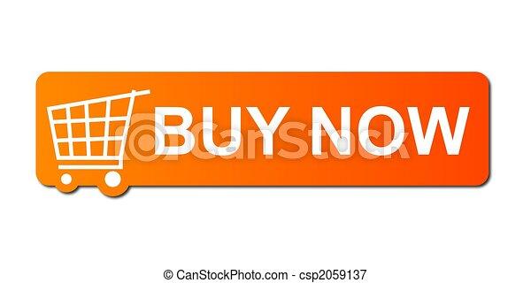 Buy Now Orange - csp2059137