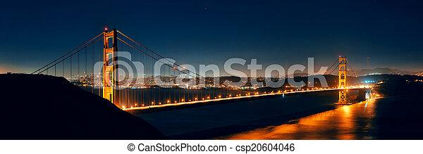 Golden Gate Bridge - csp20604046