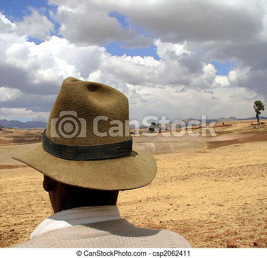 Farmer, South America - csp2062411