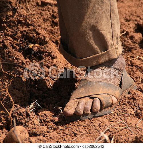 Farmer in Peru - csp2062542