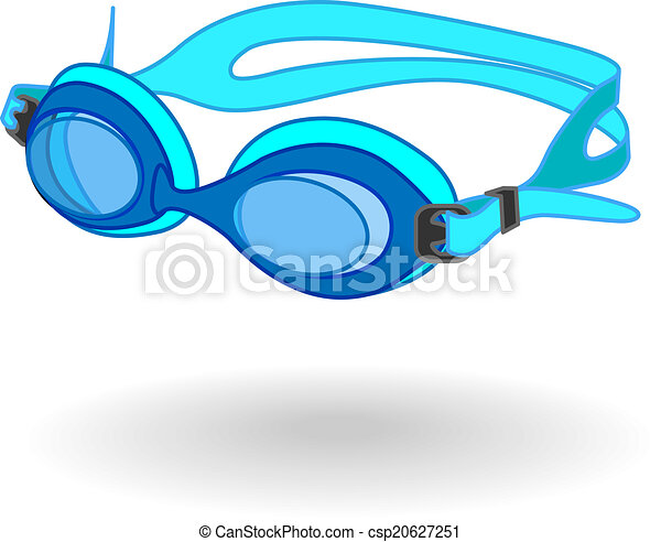Swimming Goggles Vector Swimming Goggles Csp20627251