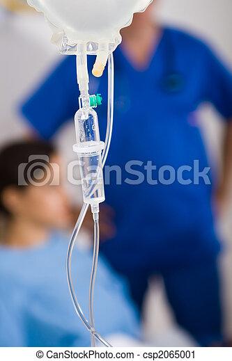 patient on drip - csp2065001