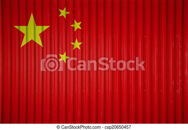 Logistic red corrugated metal sheet texture From China