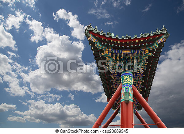 Stock de fotos de antig edad ciudad beihai jard n for Jardin imperial chino