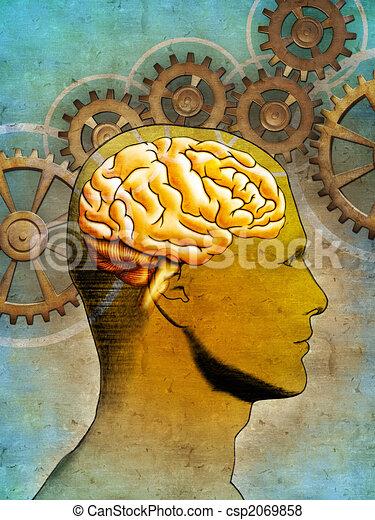 Thinking brain - csp2069858