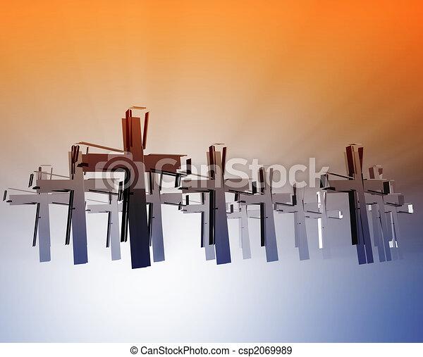 Loss of faith religion - csp2069989