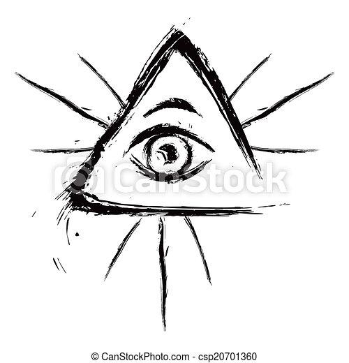 All seeing eye - csp20701360