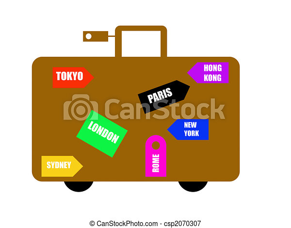 World travel destinations - csp2070307