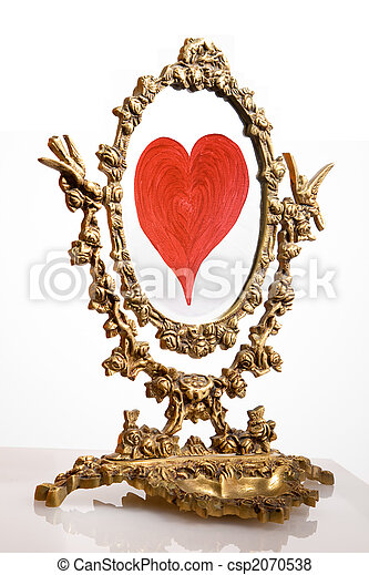Old mirror - csp2070538